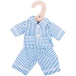 Afbeeldingen van Poppenkleding Pyjama blauw (S) 25cm Bigjigs