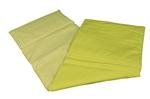 Afbeeldingen van Poppen-dekje -dekbed- slaapzak voor wieg, poppenbed en poppenwagen groen geruit 96x 32 cm Van DijkToys
