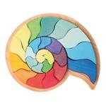 Afbeeldingen van Puzzel bouwblokken Fossiel Slakkenhuis 23-delig Grimm's