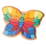 Afbeeldingen van Grimm's figuratieve puzzel Vlinder