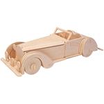 Bild von 3d puzzel oldtimer cabriolet Eureka