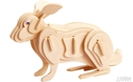 Afbeeldingen van 3d puzzel konijn Eureka