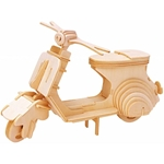 Afbeeldingen van 3d puzzel scooter eureka