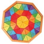 Afbeeldingen van Puzzel Octagon - Achthoek 16 cm 72-delig Grimm's