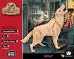 Bild von Eureka 3d puzzel wolf