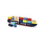 Afbeeldingen van Containerschip stapelspel Vilac