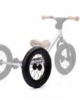 Afbeeldingen van Trybike ombouwwiel voor staal fietsen, zwarte band