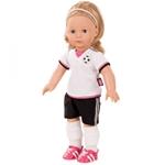 Afbeeldingen van Pop Jessica Soccer - Voetbal 46 cm Götz/Gotz Precious Day Girl