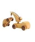 Bild von Kleine takelwagen met auto Mercurius