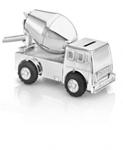 Afbeeldingen van Spaarpot Cementwagen verzilverd