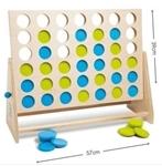 Afbeeldingen van Vier op een rij BS Toys Buitenspeel