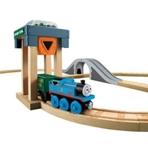 Afbeeldingen van Thomas de trein houten treinbaan kolentrein