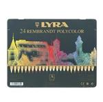 Image de Lyra Rembrandt Polycolor 24 kleuren in blik