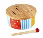 Image de Houten drum trommel 12 mnd+ Tidlo