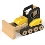 Afbeeldingen van Bulldozer hout 22 cm Tidlo