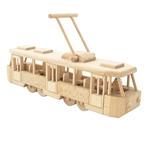 Afbeeldingen van Moderne Tram 35 cm 100% beukenhout