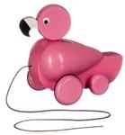 Afbeeldingen van Trekfiguur Flamingo roze