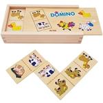 Afbeeldingen van Domino boerderijdieren