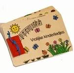 Afbeeldingen van Houten boekje:groot vrolijke kinderliedjes