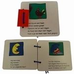 Afbeeldingen van Houten boekje:vrolijke versjes kippetje