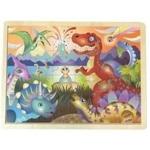 Bild von Legpuzzel in frame Dino's 24 stukjes
