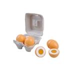 Afbeeldingen van Eieren in doosje 4 stuks deelbaar