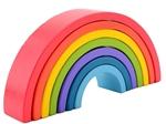 Afbeeldingen van Regenboog boogpuzzel 7 delig  Mdf  Fsc keur