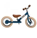 Afbeeldingen van Trybike steel vintage blauw als tweewieler