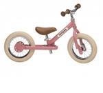 Bild von Trybike 2-wieler loopfiets staal vintage roze
