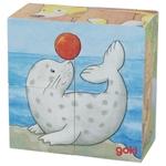 Afbeeldingen van Blokkenpuzzel jonge dieren Goki
