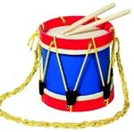 Bild von Fanfare- tamboer trommel, body volledig hout GOKI