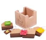 Afbeeldingen van Houten theezakjes in kistje Bigjigs