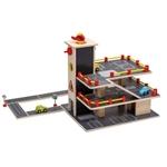 Afbeeldingen van Garage hout met accessoires Joueco