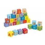 Afbeeldingen van Alfabet blokken 30 delig Joueco