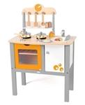 Afbeeldingen van Speelkeuken Woody Buono Cucina 17 dlg.