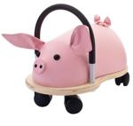 Afbeeldingen van Wheelybug large varken loopwagen met zwenkwielen 3+