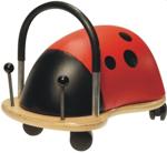 Afbeeldingen van Wheelybug small lieveheersbeestje loopwagen met zwenkwielen 1+