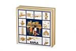 Bild von Kapla kist 100 plankjes in blank Hout