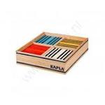 Afbeeldingen van Kapla, doos, 100 plankjes, 8 kleuren Octicolor
