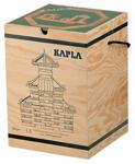 Afbeeldingen van Kapla kist met deksel 280 plankjes in blank Hout