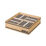 Afbeeldingen van Kapla, doos, 100 plankjes, zwart wit