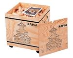 Afbeeldingen van Kapla, kist met deksel, 1000 plankjes blank