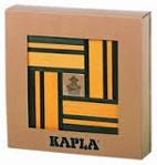 Afbeeldingen van Kapla, boekje + 40  gele en groene plankjes