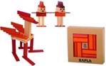 Afbeeldingen van Kapla, boekje + 40 rode en oranje plankjes