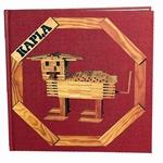 Afbeeldingen van Kapla, boek nr. 1 rood, dieren enzo