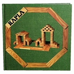 Afbeeldingen van Kapla, boek nr. 3 groen, eenvoudige bouwwerken