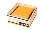 Afbeeldingen van Kapla kistje met 40 plankjes geel