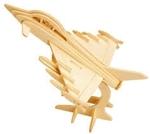 Bild von 3d puzzel straaljager Eureka