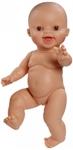 Afbeeldingen van Babypop Gordi blank meisje lachend 34 cm