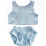 Afbeeldingen van Ondergoed (blauw) voor pop Gordi 34cm